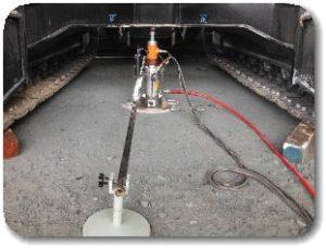 JIS A 1215 道路の平板載荷試験の写真